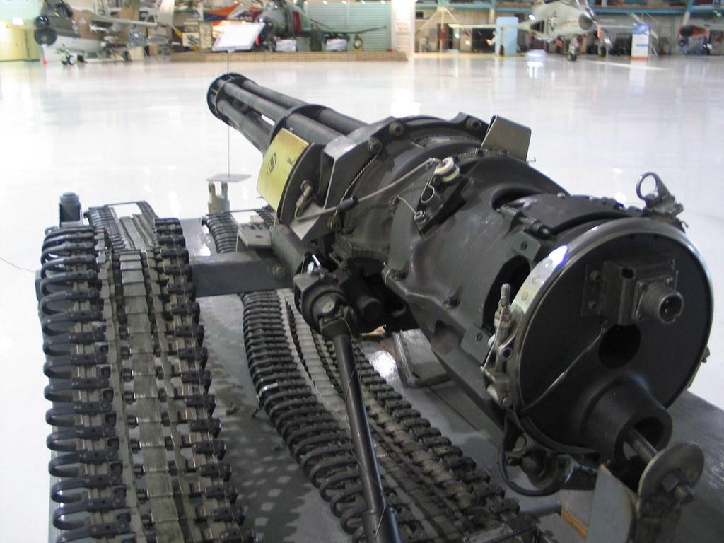 M61 Vulcan Gatling Gun | The M61 Vulcan is a hydraulically o… | Flickr