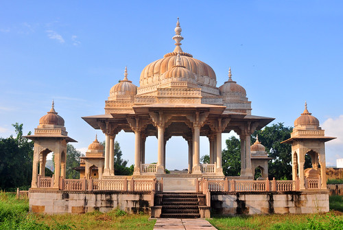 Royal Cenotaphs, Gaitor, Jaipur, Rajasthan. | by Veeds