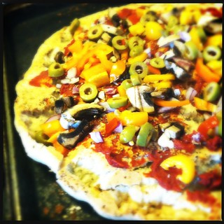 #glutenfree #vegetarian pizza precheese | by thallingram