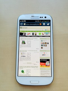 Samsung Galaxy S3 | by Stereopoly Blog