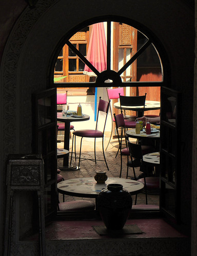 A Cafe Awaits in Marrakech | by mandalaybus
