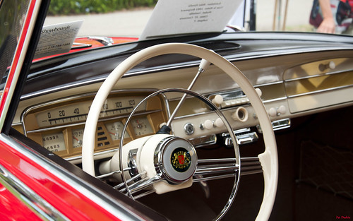 1961 Borgward Isabella - red - dash --- HB Concours 036 | by Pat Durkin OC
