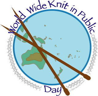 World Wide Knit In Public Day June 9th, 2012 | by fickleknitter