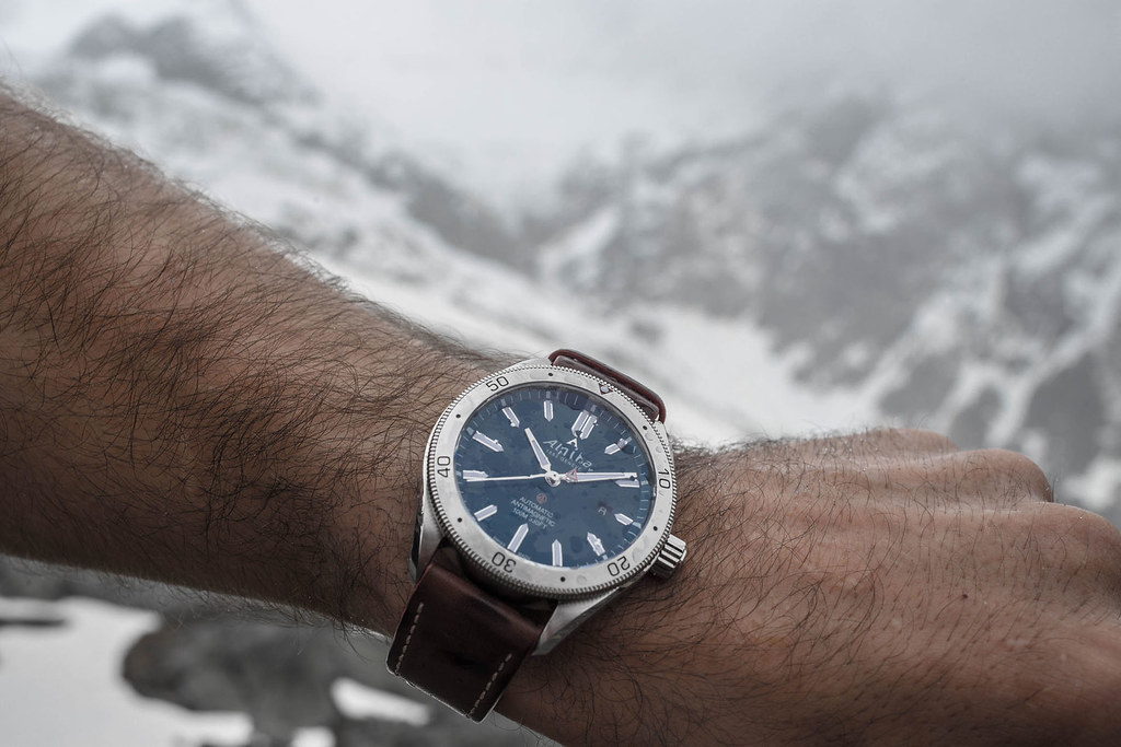 The Alpina Watches Alpiner Automatic With Glacier Blue Flickr - Alpina watches