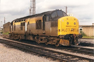37191 seen at Stratford Depot in a very tatty state 10-7-98. Copyright Ian Cuthbertson | by I C railway photo's