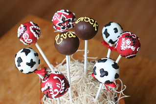 Western Themed Cake Pops | by Sweet Lauren Cakes