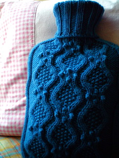 Haworth - hot water bottle cozy | by juliezryan