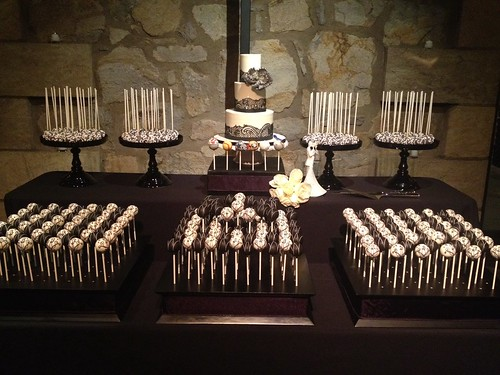 Cake Pop Display at V. Sattui Wedding | by Sweet Lauren Cakes