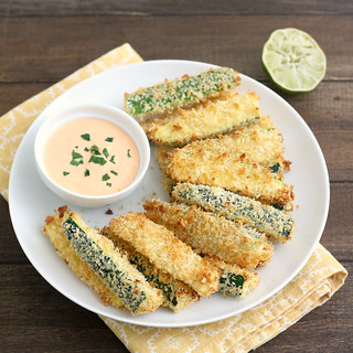 Crispy Baked Zucchini Fries | by Tracey's Culinary Adventures