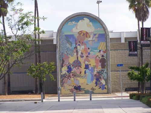 Long Beach Municipal Auditorium Mural