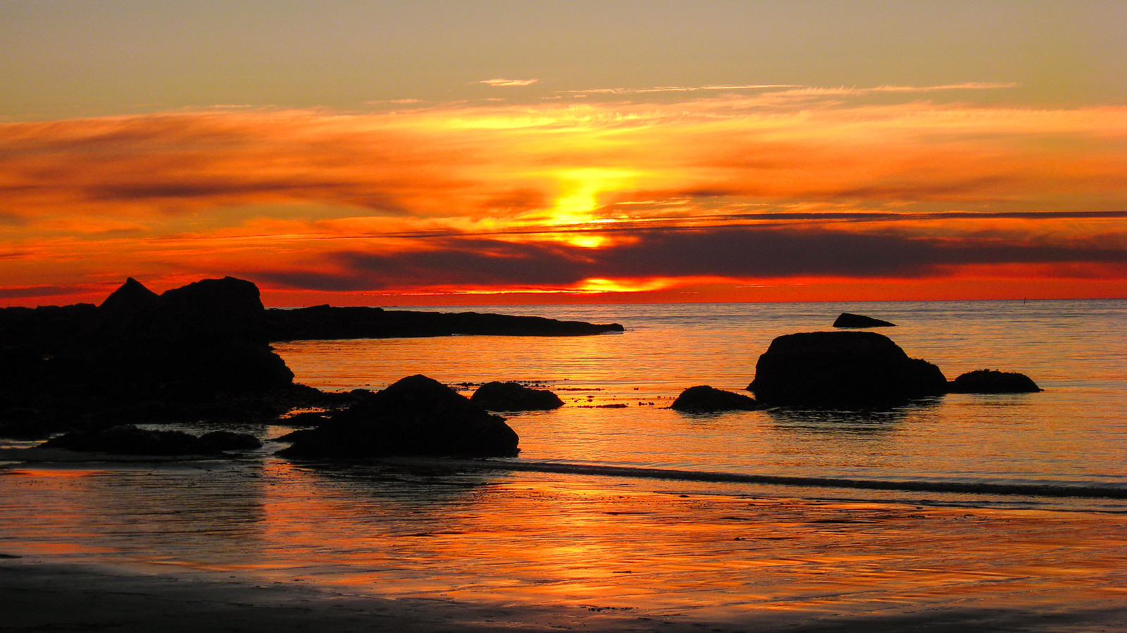 Sunset in Norway - year 2008
