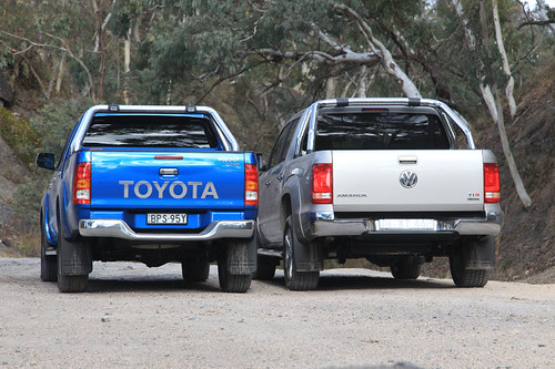 Toyota HiLux Vs Volkswagen Amarok Comparison Test | by The National Roads and Motorists' Association