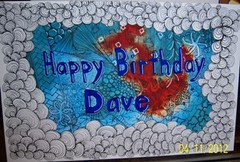 Hubby's Birthday Card for 2012 | by Cookie's Crafts