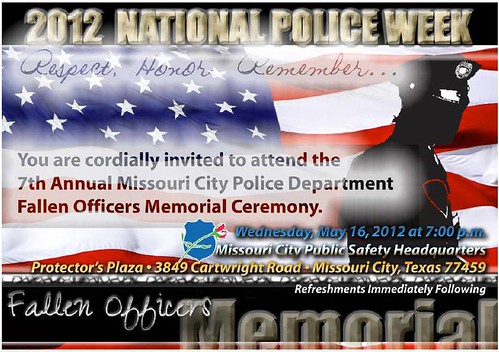 National Police Week Activities 2012 | City of Missouri ...