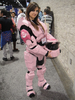 WonderCon 2012 - female Master Chief from Halo | by Doug Kline