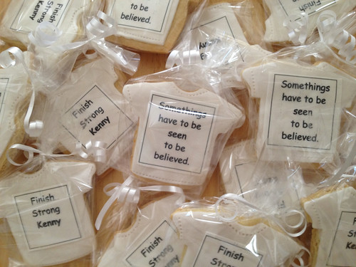 Fundraiser cookies for Kenny Pott's. | by midntecakefactory