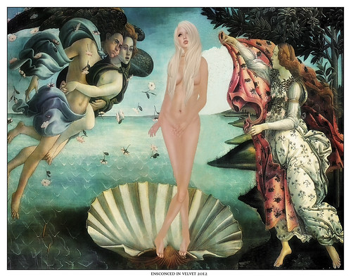 The Birth of Venus - Botticelli | by wise_Sandalwood