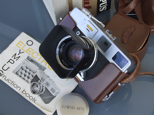 Olympus Auto Electro-set rangefinder camera boxed-7354 | by THE OLYMPUS CAMERAS COLLECTOR