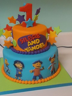Birthday Twins Cake