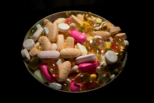 Pills Vitamins Pile Bowl April 23, 2012 2 | by stevendepolo