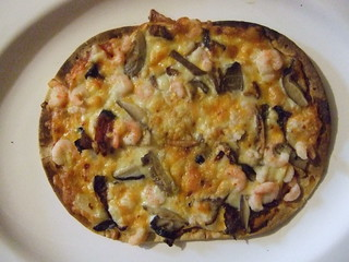 WILD MUSHROOM WITH WILD ICELANDIC SHRIMP PIZZA | by woody1778a