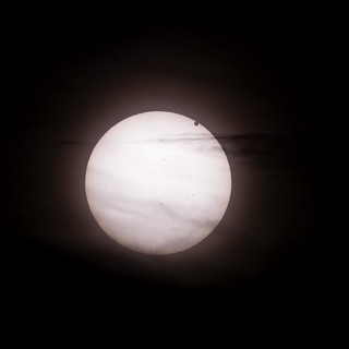 Transit of Venus from Brixton, London. 3rd. contact through the clouds. | by Owen Llewellyn