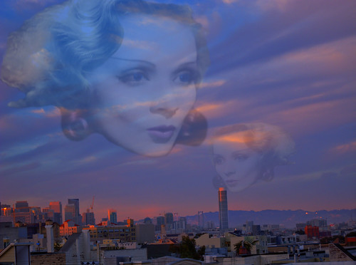 Kisses from Marlene's Ghosts at Sunset, HDR Montage | by Walker Dukes