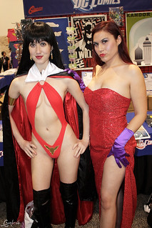 Vampirella and Jessica Rabbit | by V Threepio