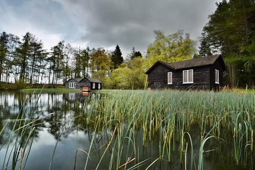 Long Loch Boathouse - Sidlaw Hills, Auchterhouse, Angus | by Michael Carver Photography