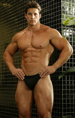 Muscle hunky men