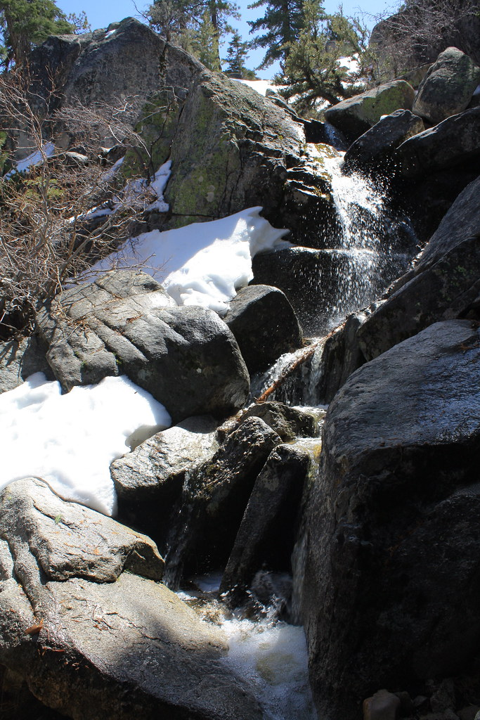 Waterfall On Castle Rock Hike Ryan Deluca Flickr