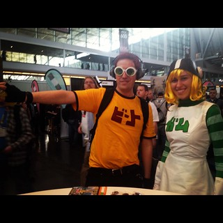 Awesome fans who came dressed as Jet Set Radio Characters | by SEGA of America