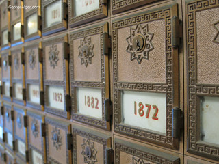 Antique Mailboxes | by GeorgeAlger.com