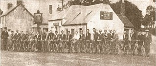 Angus Cycling Club 1933 - Outside Finavon Hotel | by chainwheel52