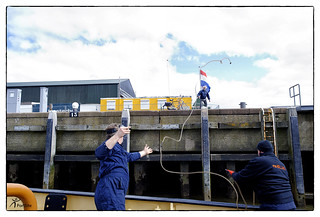 Tug Holland into trouble by engine failure! - Zeesleper Holland in de problemen door uitval motor! | by PortSite