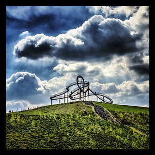 tiger and turtle - Magic Mountain - Germany - Duisburg | by derquoos