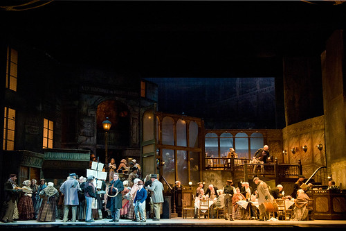 The cast of La bohème © Mike Hoban/ROH 2012 | by Royal Opera House Covent Garden