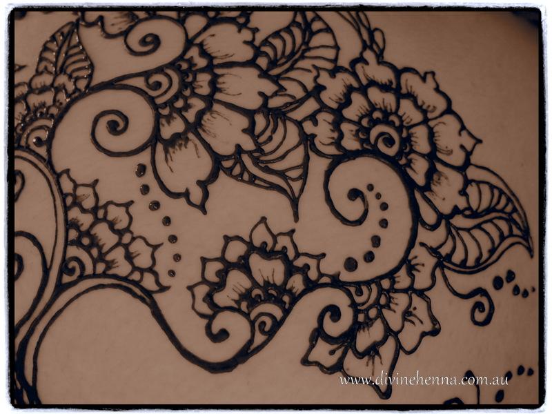 Detail Of Tree Of Love And Love Henna Design Nicki Elliott Flickr