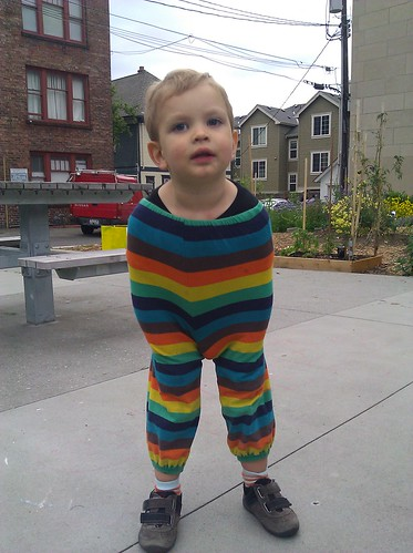 The Rainbow Tooth pantsuit | by .ams