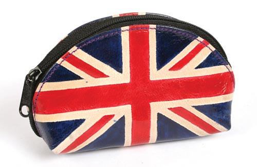 British Union Jack Design Leather Purse | by THE FAIR TRADE STORE