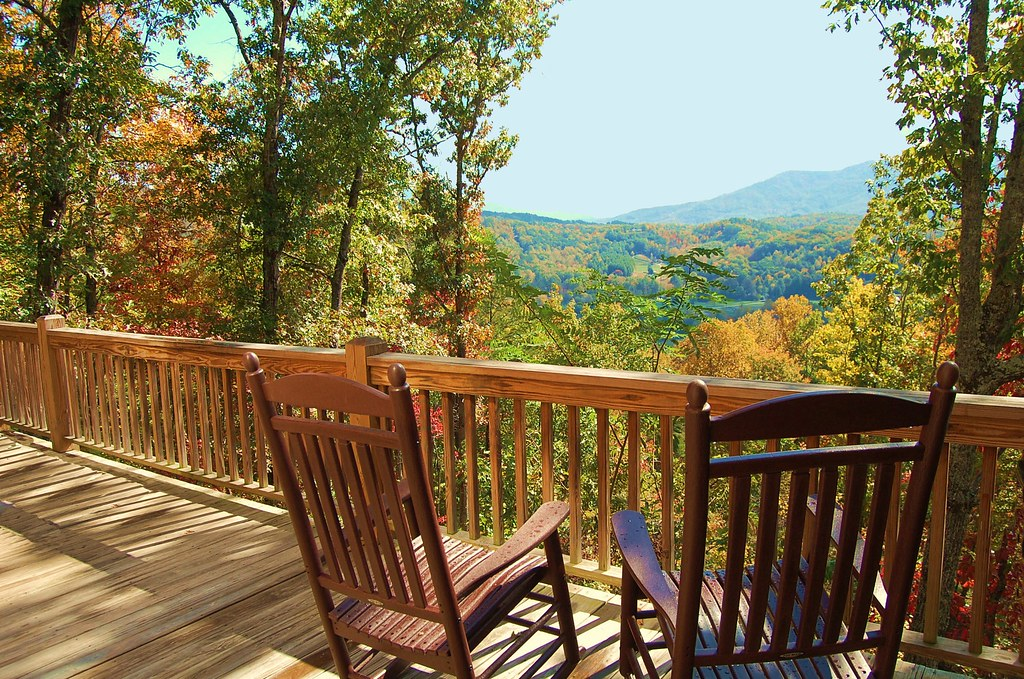 ... Rocking Chair Porch | By Mountain Photo Gallery