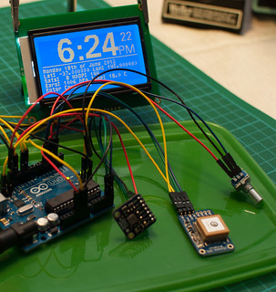 Most Parts- GPS Clock | by Andrew D2010