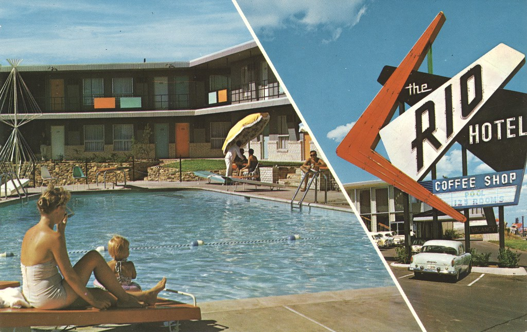 Rio Motor Hotel - Fort Worth, Texas
