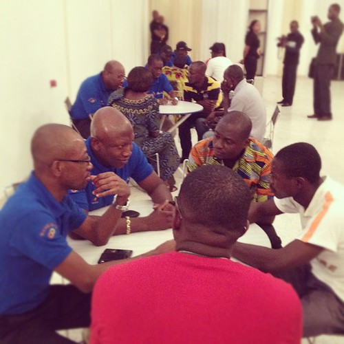 New beginnings to success are happening right here, right now, at #qnet #ivorycoast #expo #2012 | by QNET