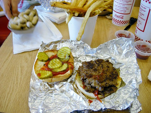 FIVE GUYS BURGER AND FRIES | by Joe Desiderio
