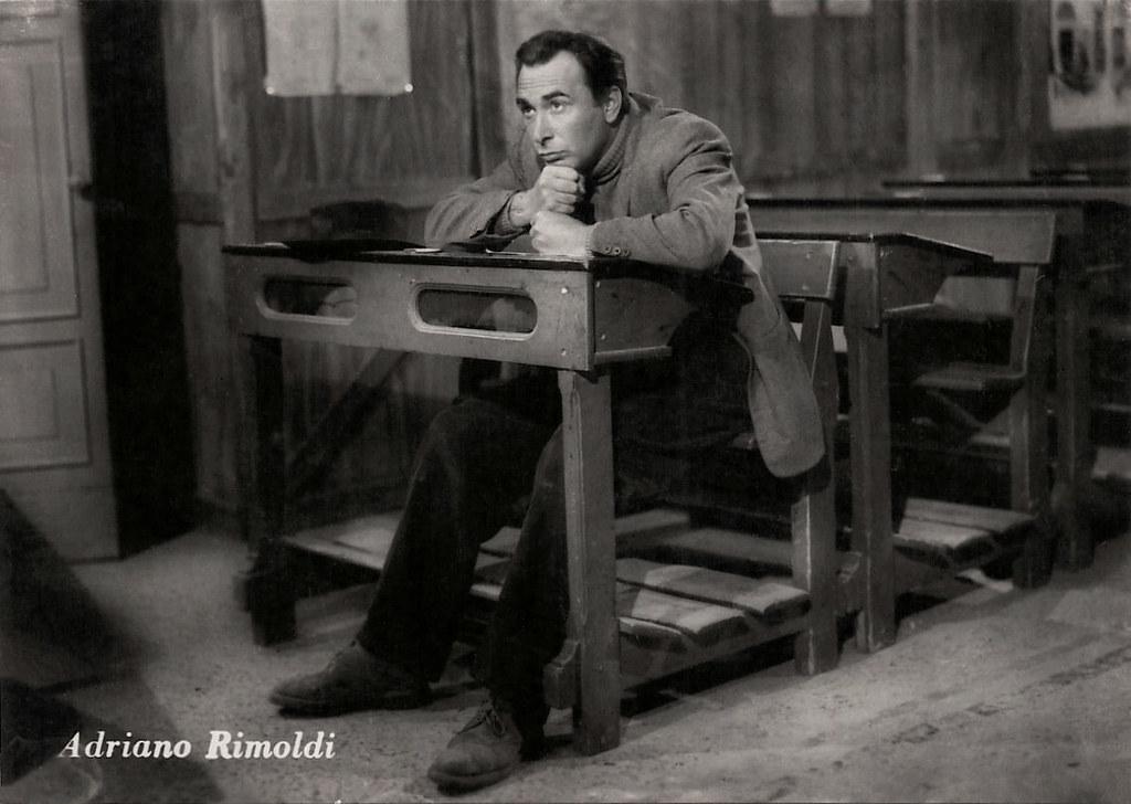 Adriano Rimoldi In Gente Cosi Italian Postcard Prod Icet Flickr