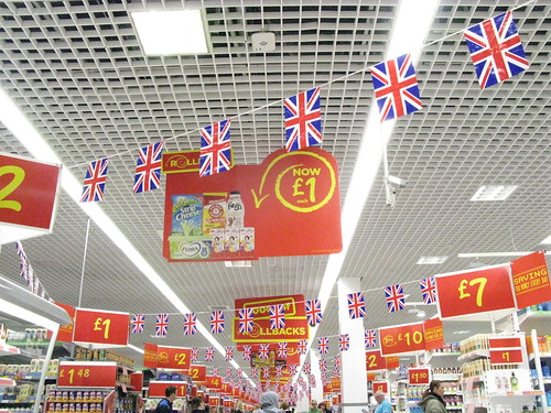 Patriotic Supermarket | by George D Thompson