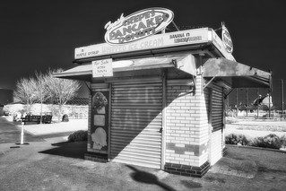 Infrared of Crepes pancakes and Donuts Skegness | by riverdance220