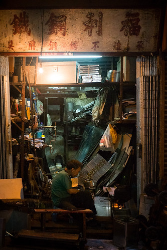 Upper Lascar Row. Hong Kong | by H.L.Tam