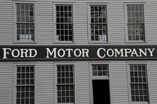 Ford motor company mack avenue plant replica of the for Ford motor company news